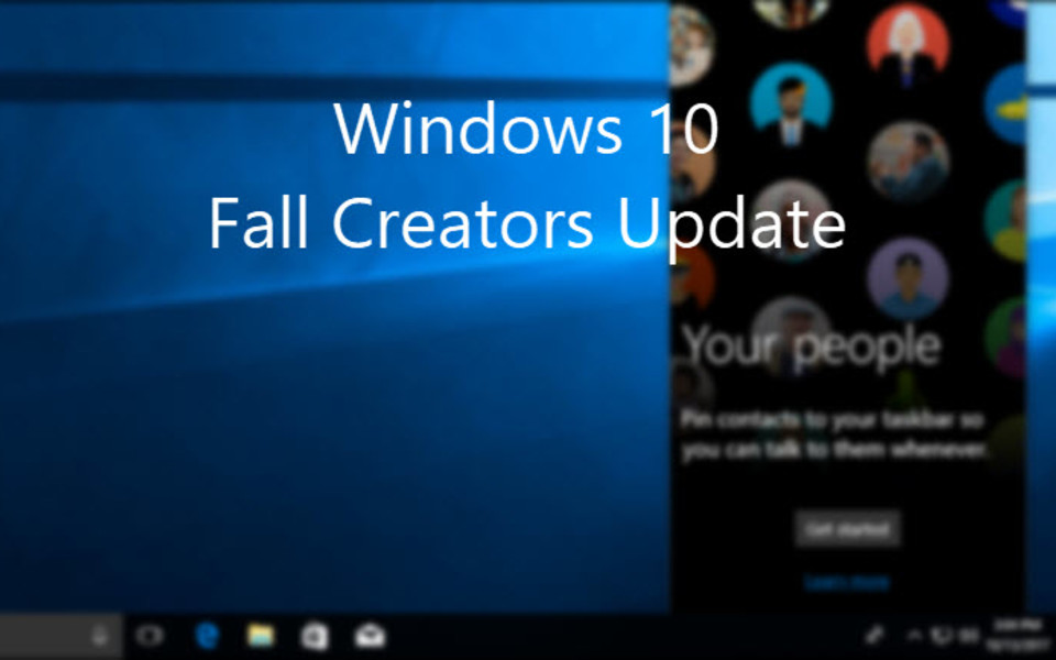 How to install Fall Creators Update right now?