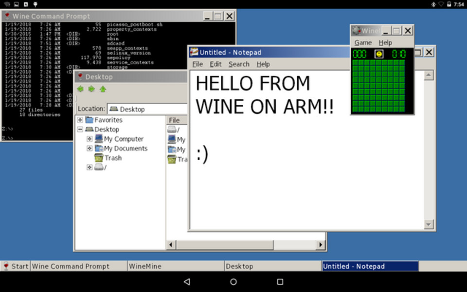 Wine 3.0 arrived to let you run Windows applications on Android
