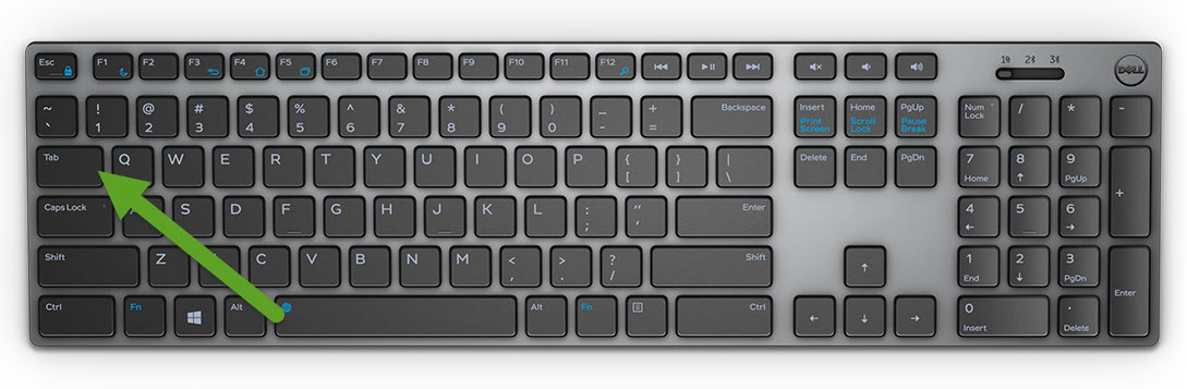 05b4754970a Tab: Tab key has many uses such has like advancing the cursor by five  characters, move between controls in a window or a web browser, switch  between web ...