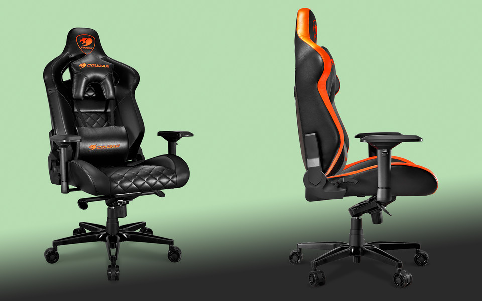 Cougar has a huge new gaming chair: Armor Titan