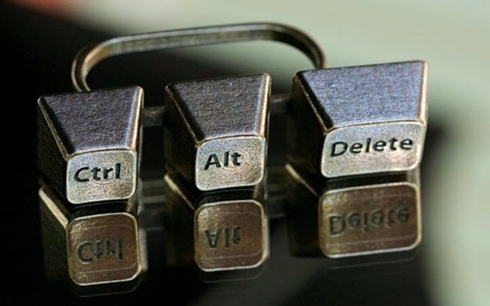 What is Ctrl - Alt - Del and how it's born