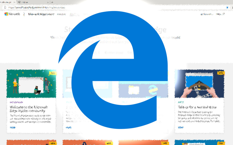 Screenshots from Chromium based Microsoft Edge