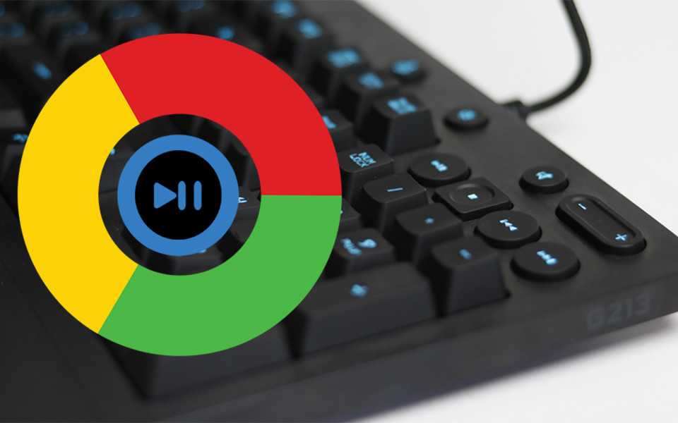 Stop Chrome from taking over media keys