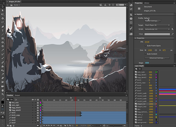 Adobe Animate CC (Mac)