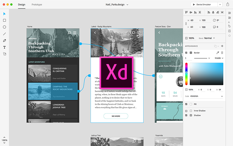 Adobe XD (Mac)