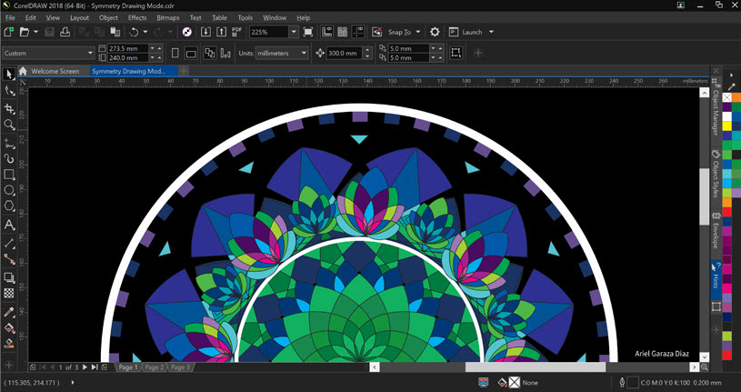 CorelDRAW Graphics Suite 2018 keyboard shortcuts ‒ defkey