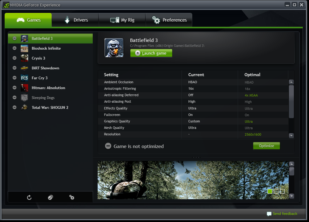 GeForce Experience and GeForce Now