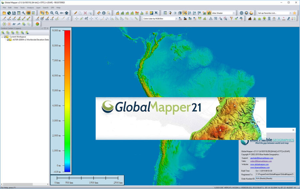 Global Mapper 21