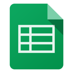Google Sheets (Mac)