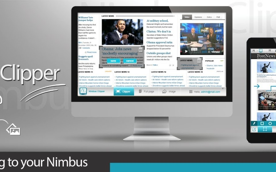 Nimbus Clipper (Chrome extension)