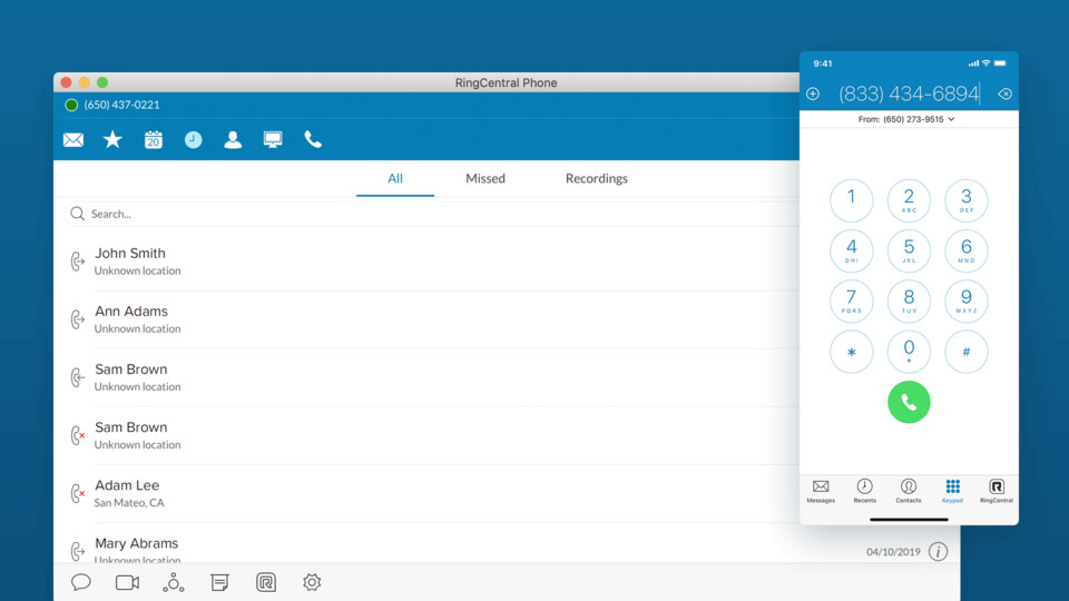 RingCentral Phone (Desktop)