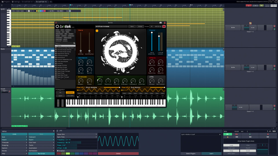 Tracktion T7 DAW (Windows)