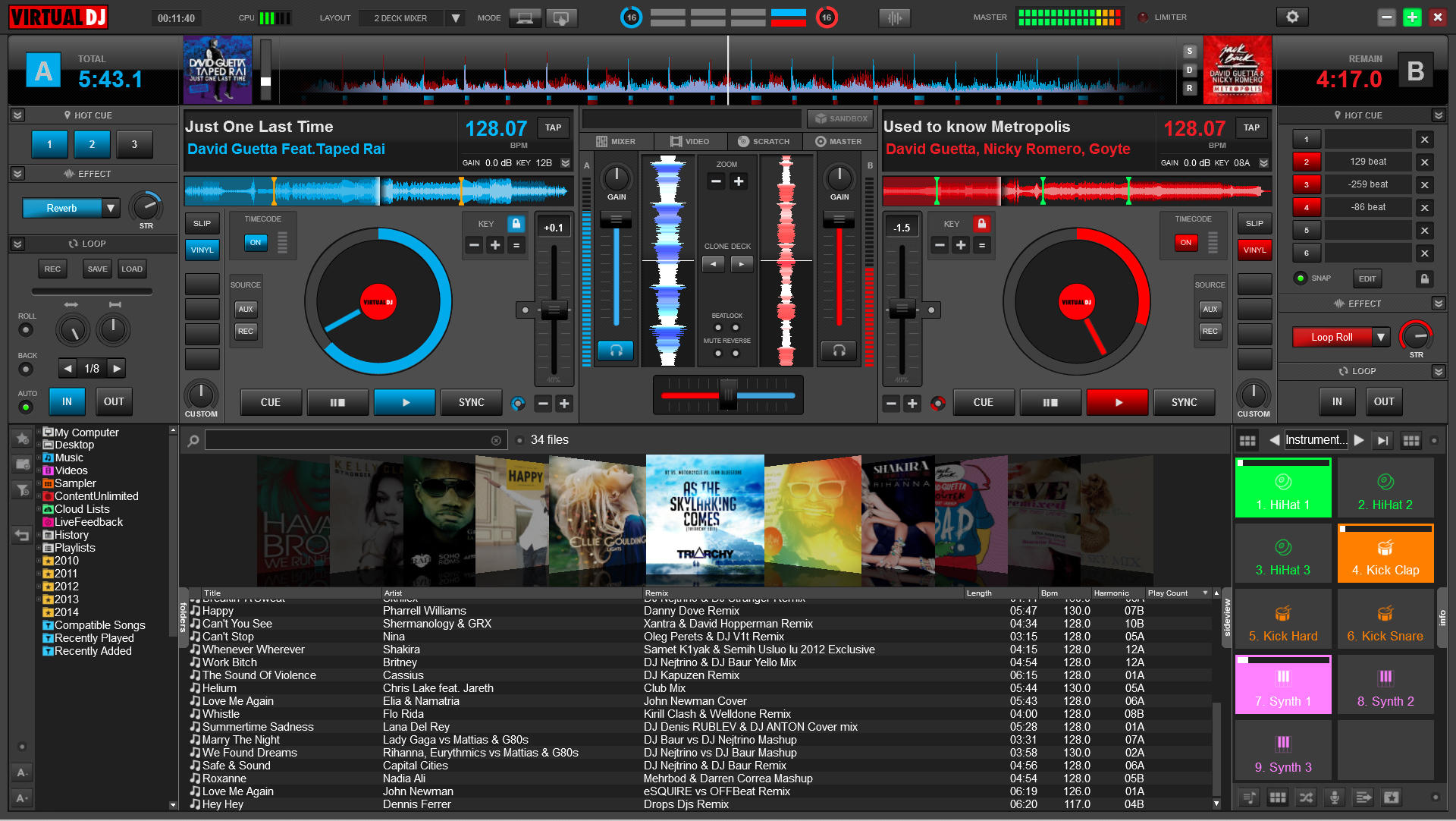 Virtual dj 8 software review digital dj tips.